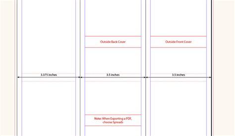 tri fold brochure template indesign af templates