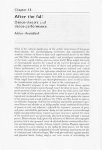 dance concert critique essay