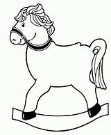 Horse Rocking Printables Patterns Templates Printable Coloring Pages Christmas Print Template Toys Sheknows sketch template