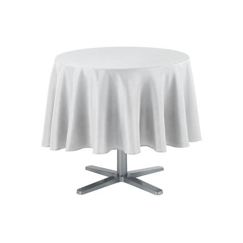 Tischdecke Runder Tisch by Tischdecke Rund 180 Cm Uni Design Textil Tischtuch Tisch