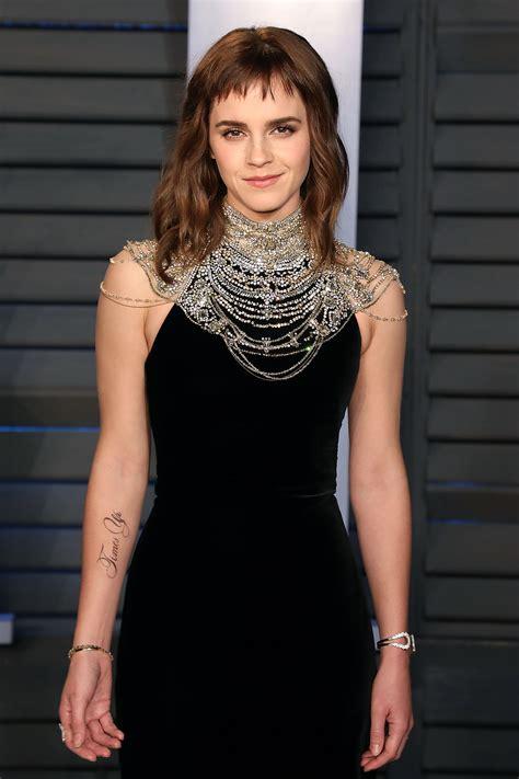 Everyone Talking About Emma Watson New Tattoo But