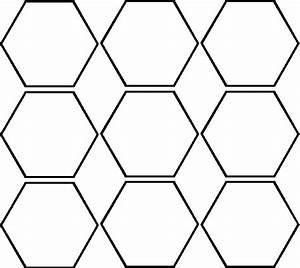Hexagon Cutouts
