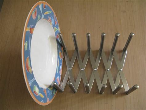 ikea rationell variera pot lid organize stainless steel dish plate rack gift ebay