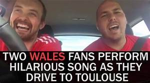This hilarious song written by two Welsh football fans ...