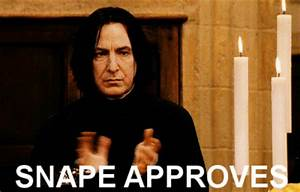 Snape Alwazs GIFs - Find & Share on GIPHY