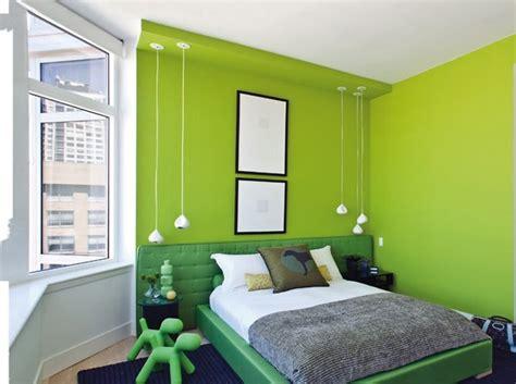 chambre verte idée déco chambre vert anis
