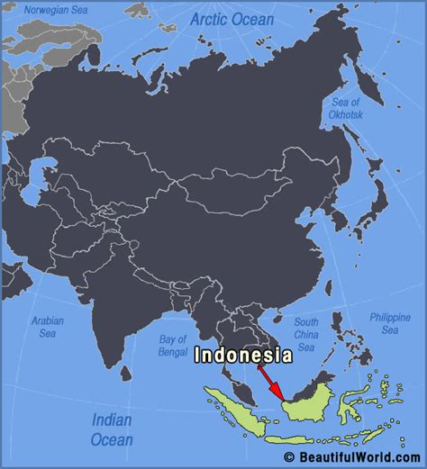 map  indonesia facts information beautiful world