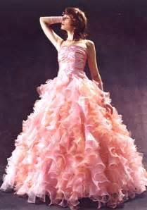pink wedding dress get it in pink everything pink pink wedding dresses