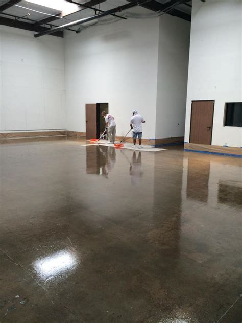 Industrial Floor Coating   Epoxy Garage Floors   Local San