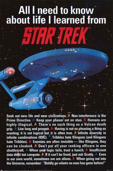 All I Need To Know About Life I Learned From Star Trek Nerdvana Pinterest All