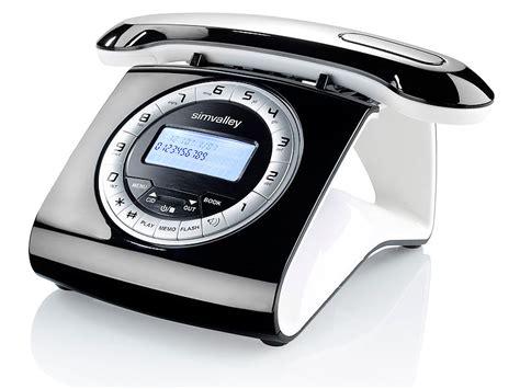 simvalley communications retro dect schnurlostelefon mit