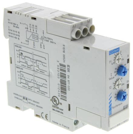 Crouzet Current Monitoring Relay With