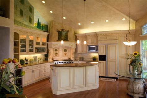 Inspired by our kitchens' designs to complement them or add a home cucine… an authentic italian company. R. J. Perez Construction Inc. - Tuscan Style Kithcen