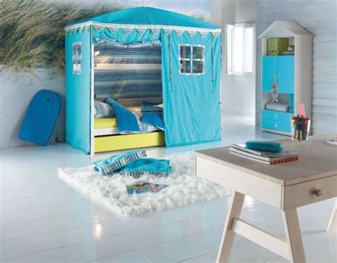 cool beds for kid cool kids room beds with nice tents by life time digsdigs