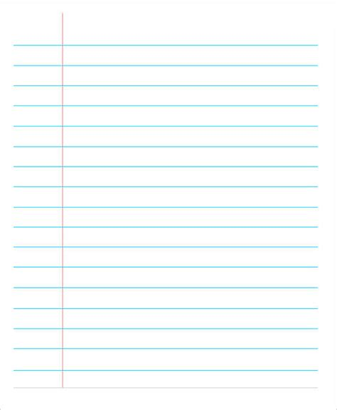 lined paper template pdf 13 lined paper templates in pdf free premium templates