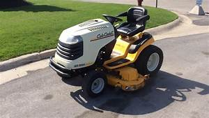 Cub Cadet Gt1554 Riding Mower