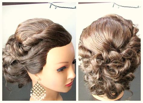 Medium Length Hairstyle, Prom Hairstyle,updo Hairstyle