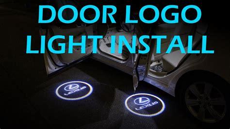 car door light logo door welcome logo lights installation