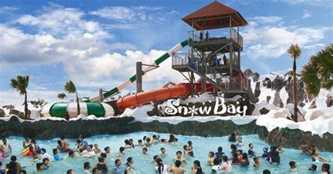 snowbay waterpark taman mini indonesia indah