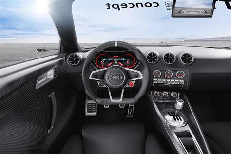 audi tt ultra quattro concept interior car body design