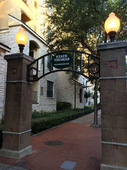 Thomas State Dallas Neighborhood Wikipedia Texas Historic