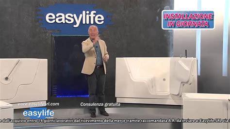 easylife vasche da bagno  sportello youtube