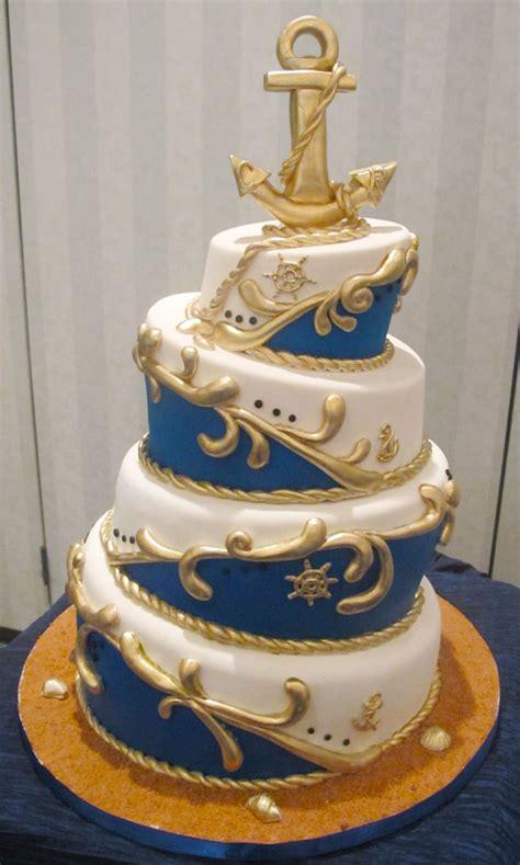 nautical topsy turvy wedding cake wedding cake cake