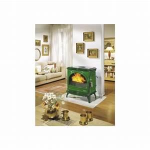 Petit Poele A Granule Pas Cher : godin po le bois petit carvin 366102 vert majolique ~ Premium-room.com Idées de Décoration