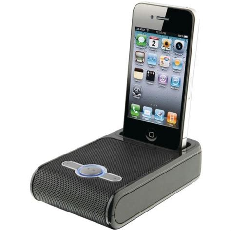 portable speakers for iphone eng works w iphone portable speaker by ilive upc 047323091117