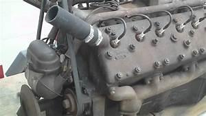 1939 Zephyr V12 Engine Running