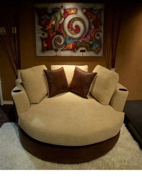 oversized recliners  cup holders sofas futons