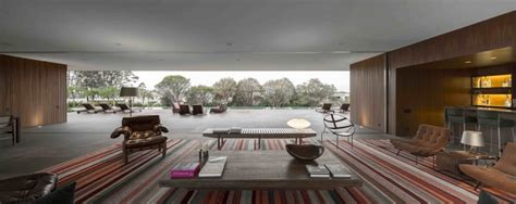 A Fabulous Fortress In Brazil by Marcio Kogan S Casa Concrete House Open Plan Indoor