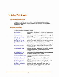 Using This Guide  Purpose And Audience  Chapter Summary