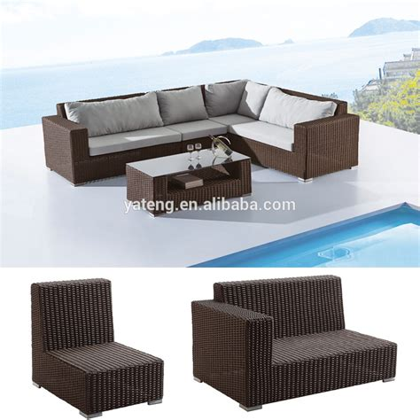 low price rattan wicker swimming pool sun lounger for