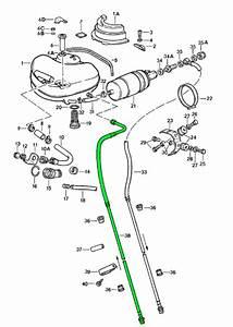 Porsche 911 Fuel Tank Pressure Return Line 91135606207