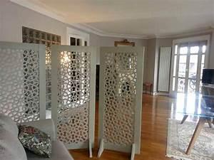 Decoration Mur Interieur Salon : decoration mur interieur salon 1 paravent en bois sur ~ Dailycaller-alerts.com Idées de Décoration