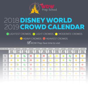 disney world crowd calendar times visit