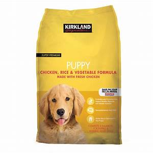 Kirkland signature nature39s domain puppy chicken pea 20 for Costco natural dog food