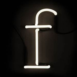 seletti neon wall light letter f iwoot With seletti letter lights