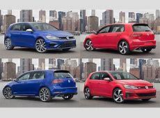 2018 Volkswagen GTI vs Golf R Which Hot Hatch Should You Buy?
