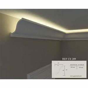 corniche plafond avec led 28 images awesome corniche With carrelage adhesif salle de bain avec moulure plafond pour led