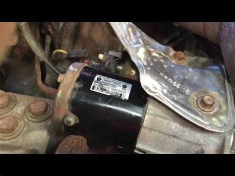 Starter Replacement Tips   2010 Ram 1500 5.7 Hemi   with