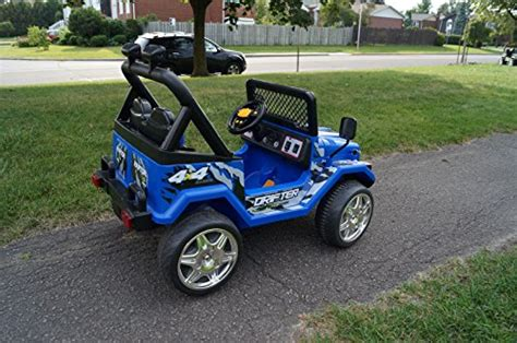 small jeep for kids s618f small blue jeep wrangler ride on car for kids 2 7