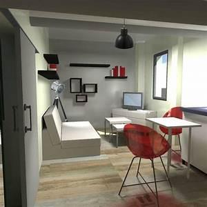 Rnovation Amnagement D39un Studio Meubl Aix En