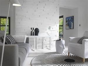 Adhesif Mural En Relief : 25 best ideas about parement bois sur pinterest ~ Premium-room.com Idées de Décoration