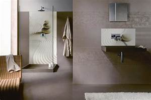 Panneau Hydrofuge Salle De Bain : panneau de douche et cr dence lavabo jardin japonais ~ Dailycaller-alerts.com Idées de Décoration