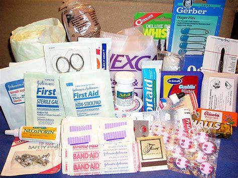 homemade  aid kit