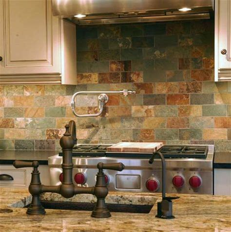 slate tile kitchen backsplash best 25 slate backsplash ideas on 5323