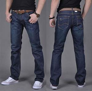 2018 Mens Skinny Jeans Men 2015 New Arrival Straight Casual Denim Jeans Pants Washed Black Jeans ...