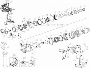 Dewalt Dcd950 Parts List And Diagram